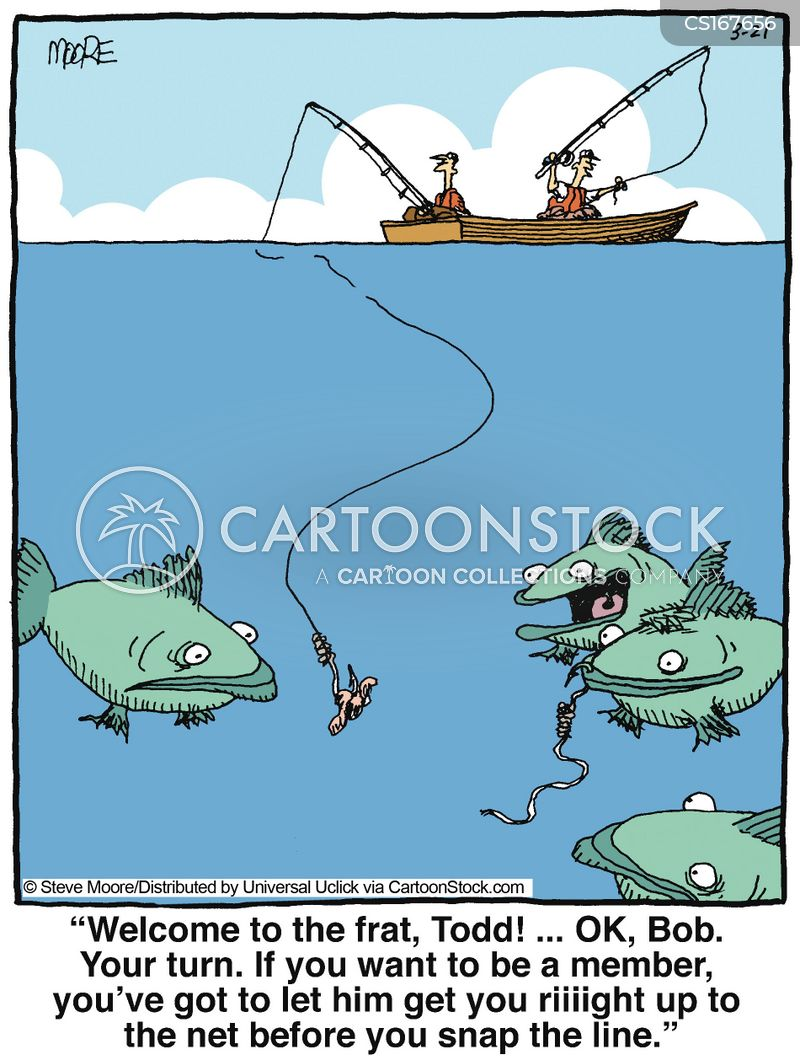 fished cartoon