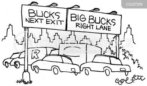 super wealthy cartoon