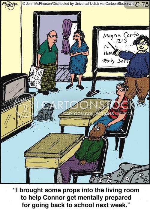 classmates cartoon