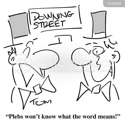 downing street cartoon