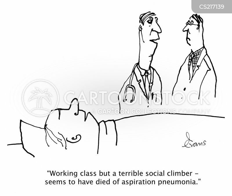 chest infection cartoon