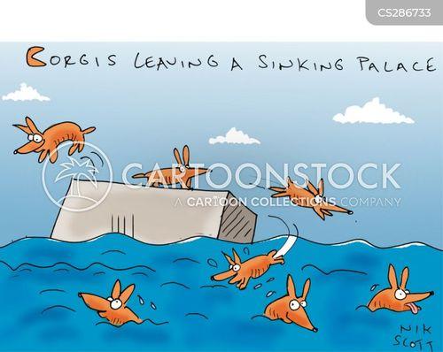 rats leaving a sinking ship cartoon