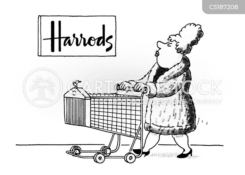 shopping trolley cartoons and comics funny pictures from cartoonstock