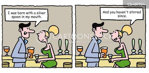 silver spoons cartoon