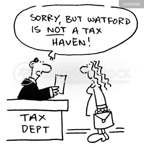 tax debt cartoon