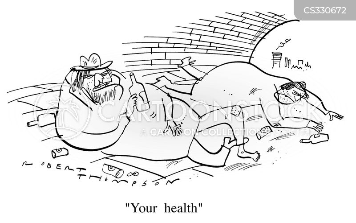 unhealthly cartoon