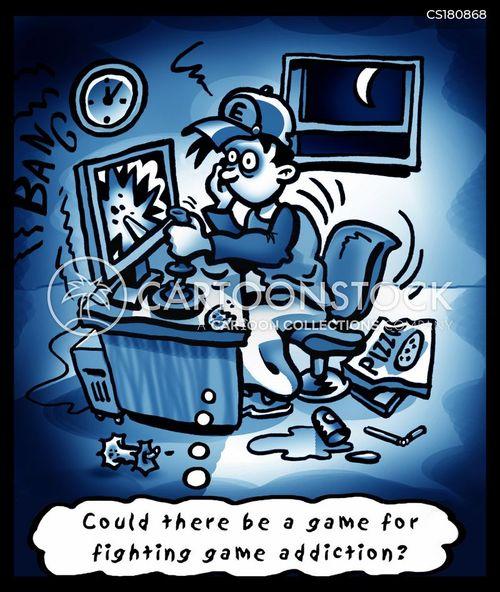 computer nerd cartoon
