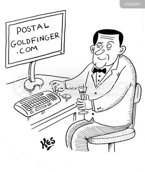 gold prices cartoon