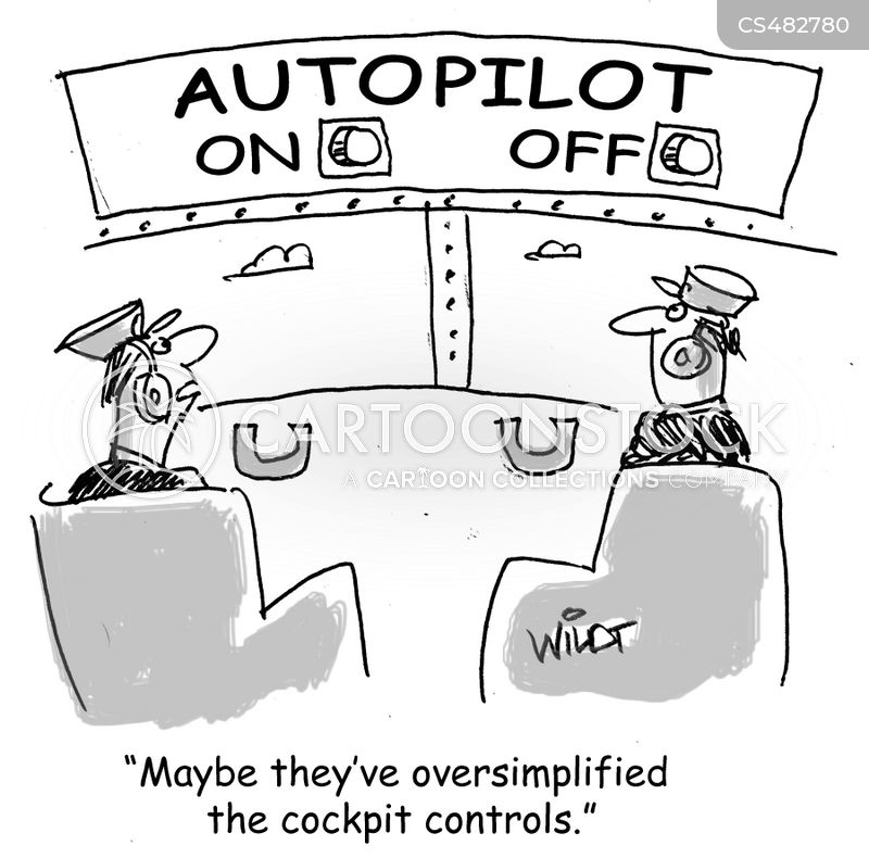 autopilots cartoon