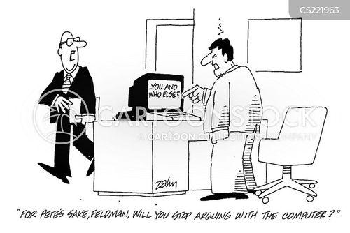 technical fault cartoon