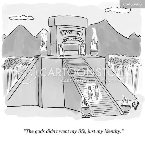 human sacrifices cartoon