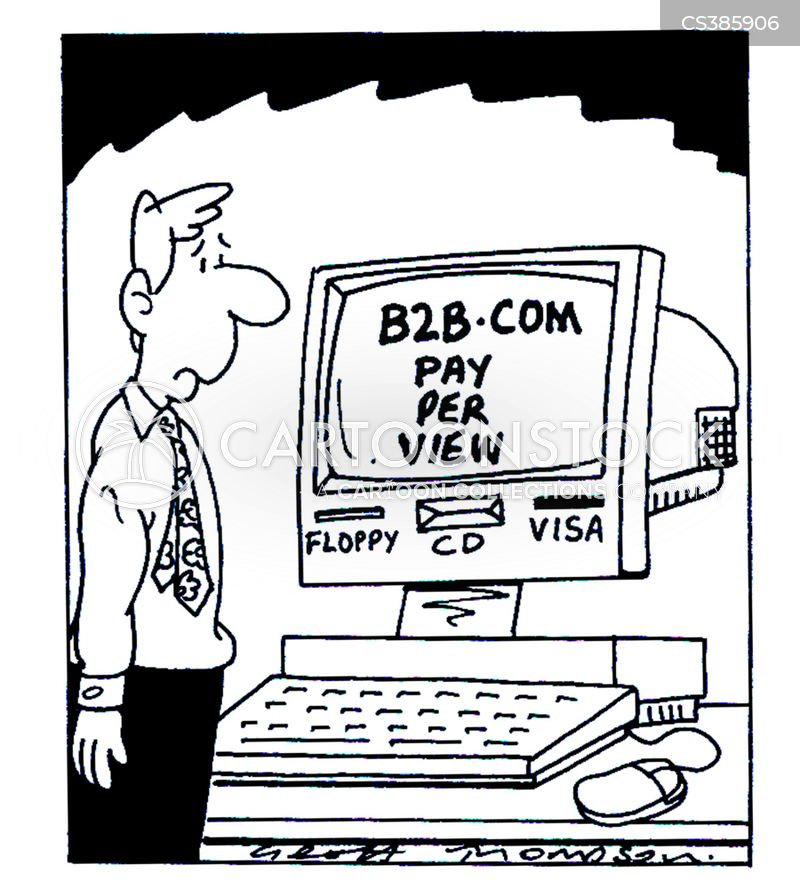 web surfing cartoon