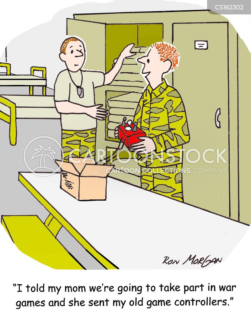barracks cartoon