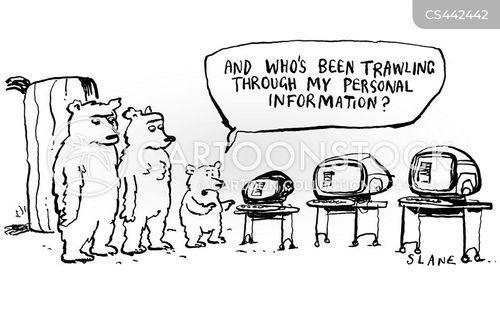 personal data cartoon
