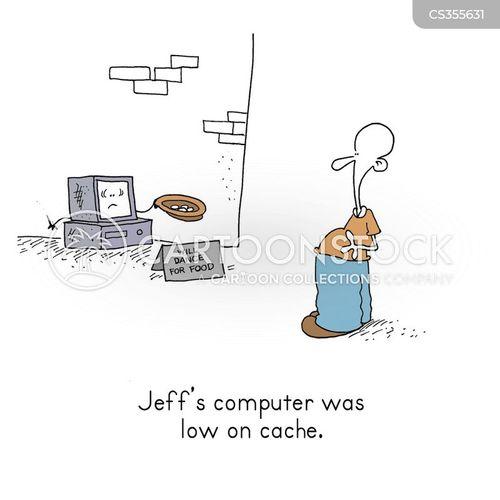 cache cartoon