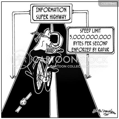 download speed cartoon