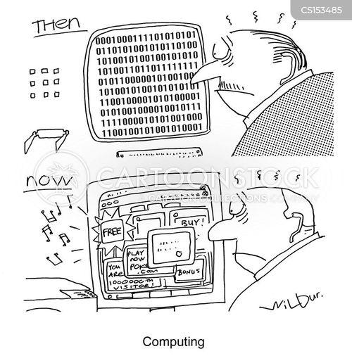 binary cartoon
