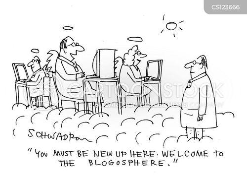 welcomes cartoon