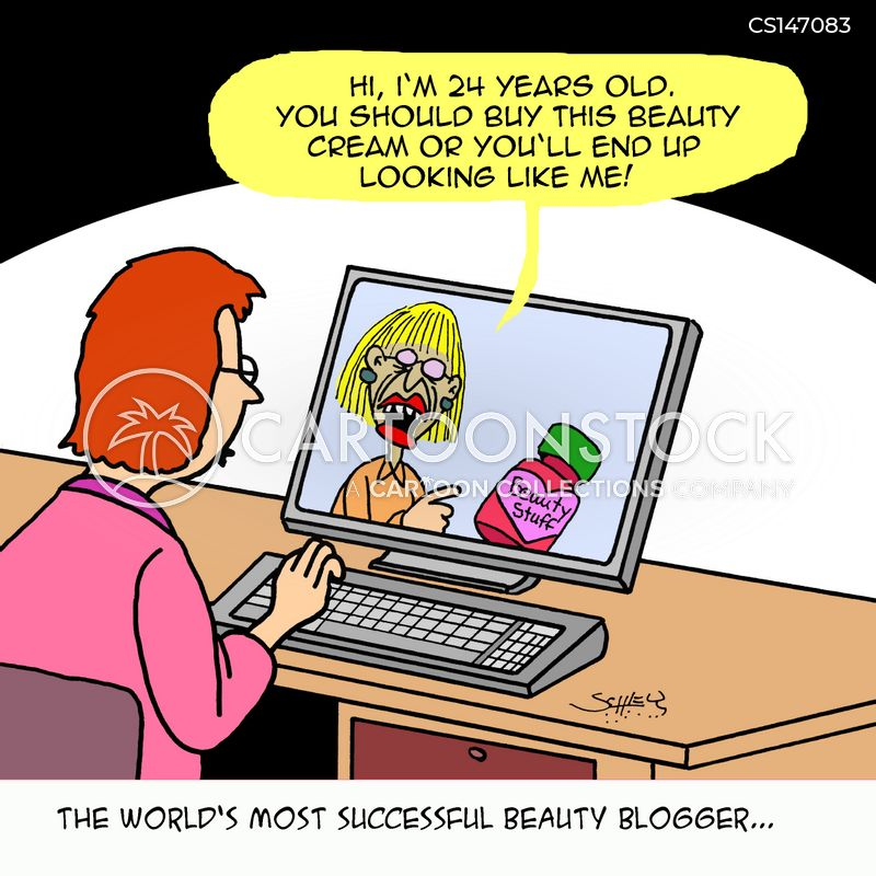 beauty cream cartoon