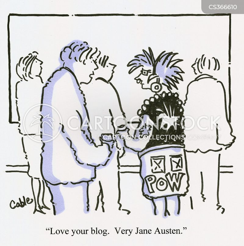 austen cartoon