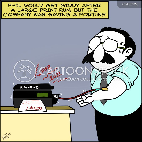 cost saving cartoon