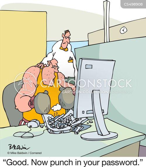 heavy-handed cartoon
