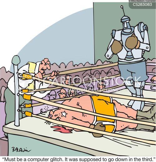 fixed fights cartoon