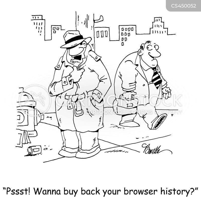 browser histories cartoon