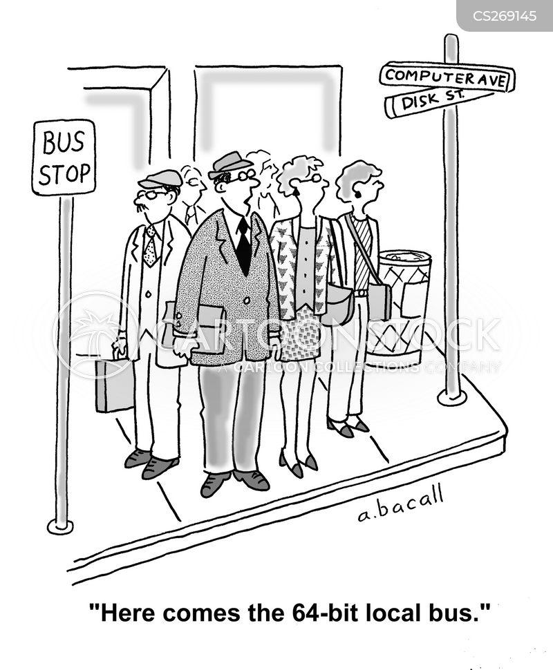 bus route cartoon