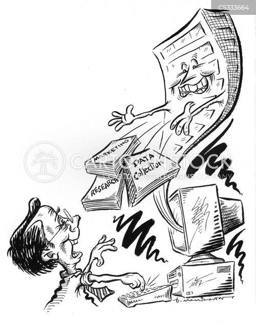 data collection cartoon