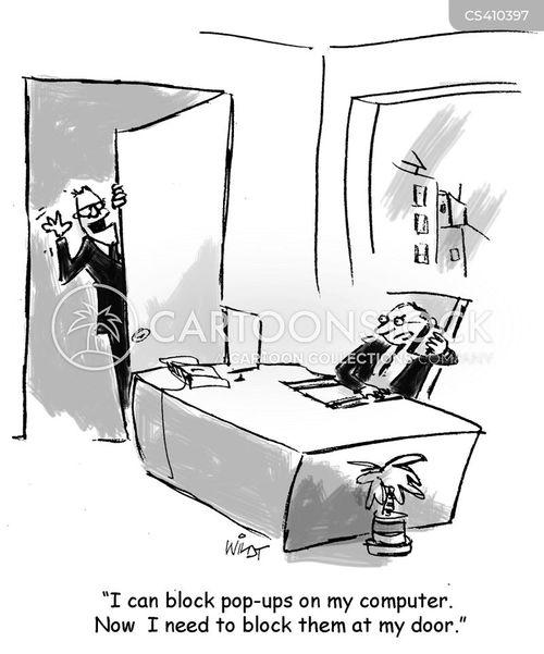 pop ups cartoon