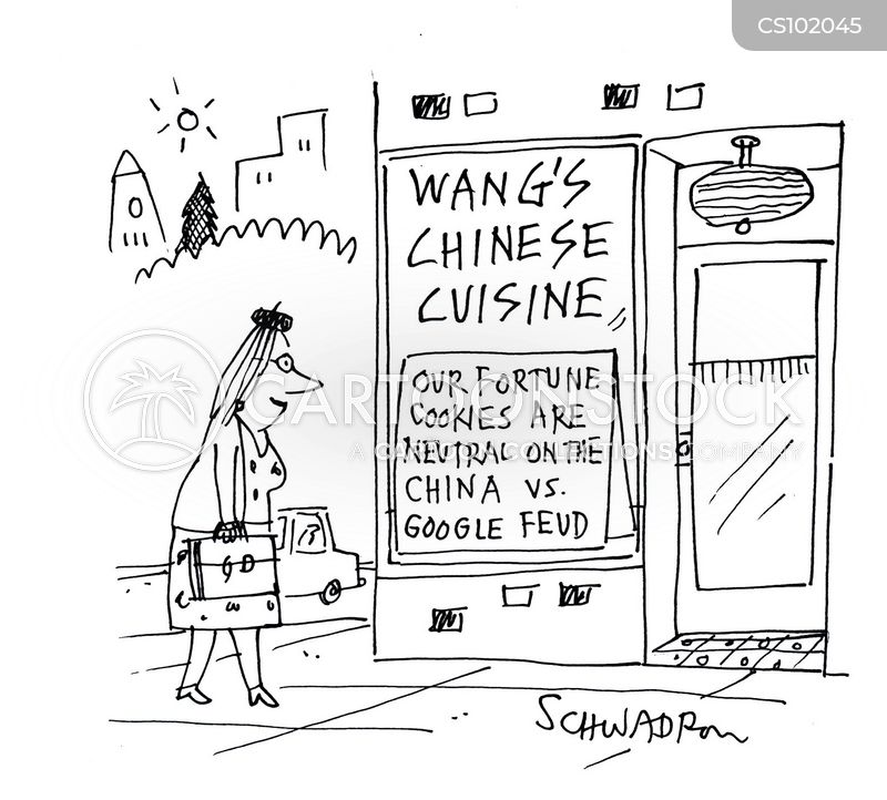 chinese restaurant cartoon