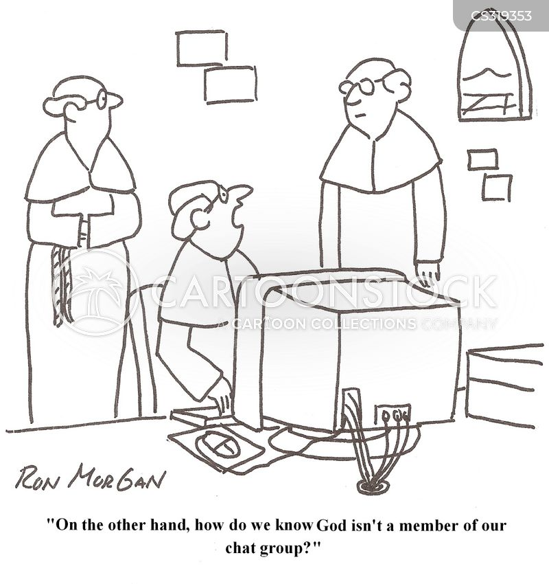 discussion group cartoon