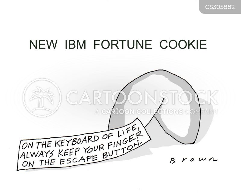 ibm cartoon