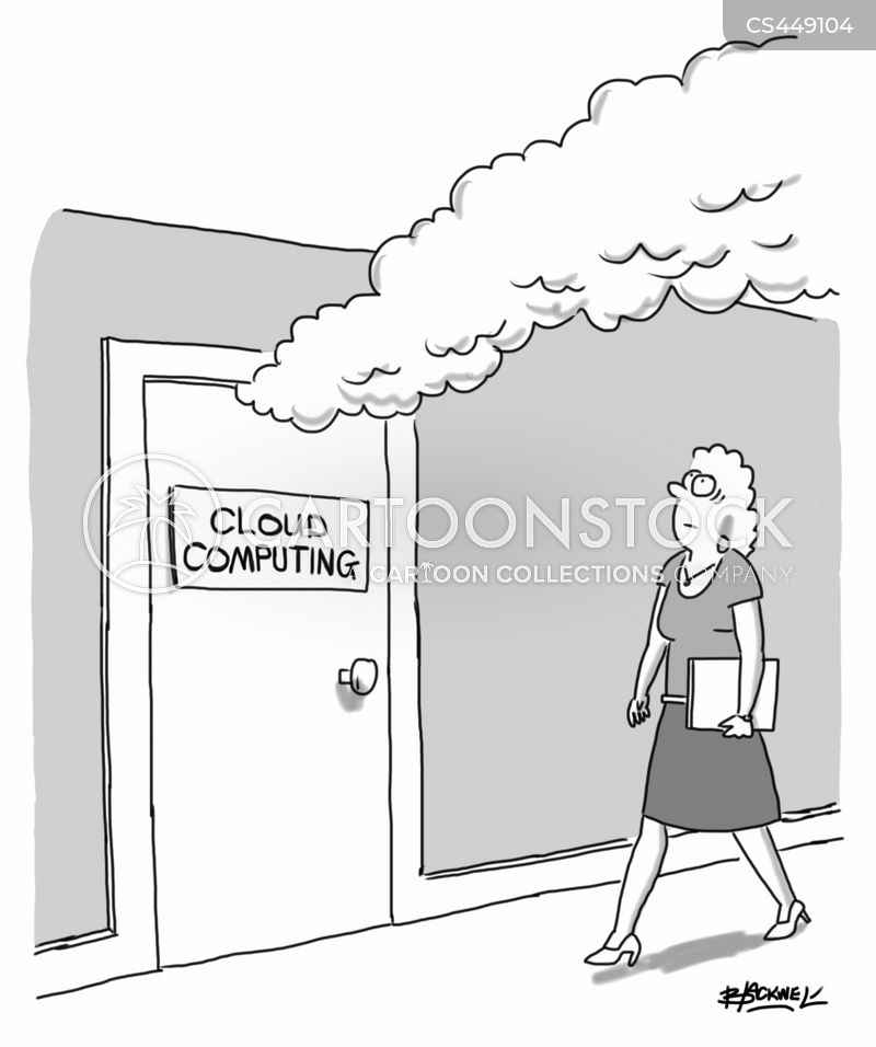 Cloud Computers cartoons, Cloud Computers cartoon, funny, Cloud Computers picture, Cloud Computers pictures, Cloud Computers image, Cloud Computers images, Cloud Computers illustration, Cloud Computers illustrations