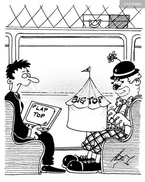 lap top cartoon
