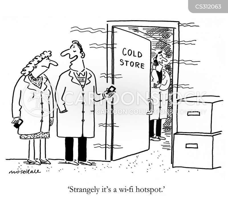 cold store cartoon