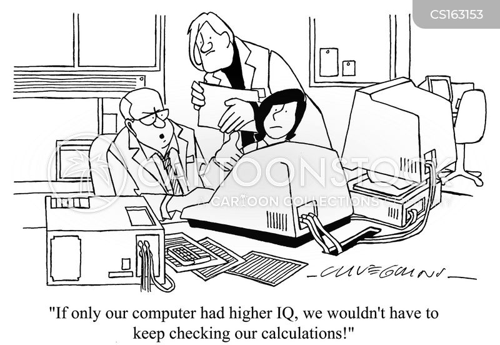 data entry cartoon