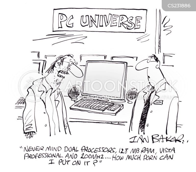 computer sizes cartoon