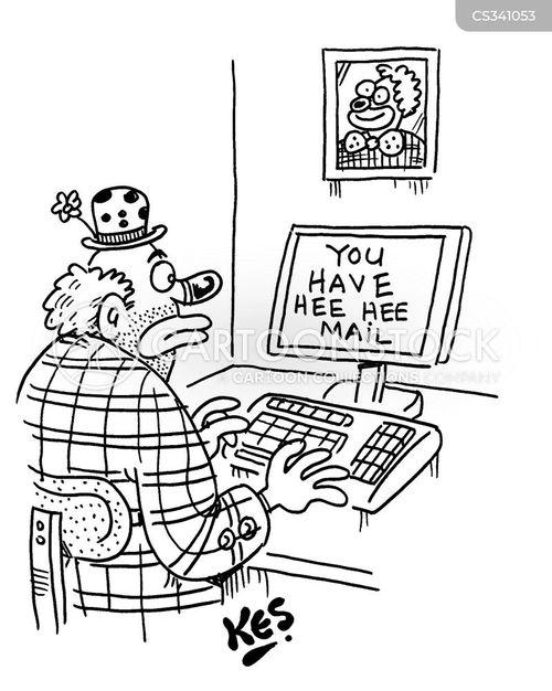 internet user cartoon
