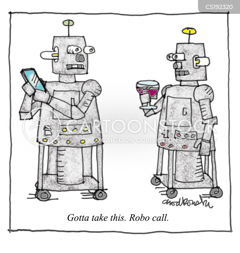 cyborgs cartoon