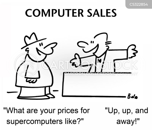 supercomputers cartoon