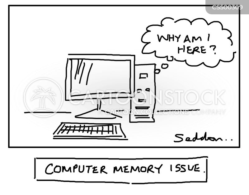 computer upgrades cartoon
