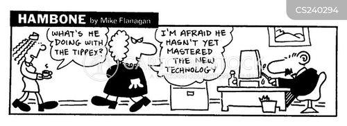 tippex cartoon