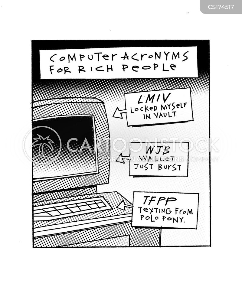 computer acronym cartoon