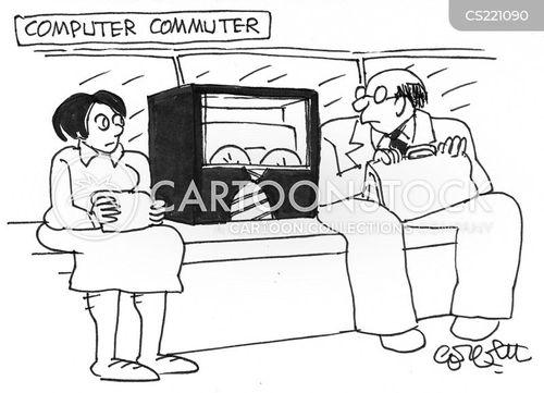 train journey cartoon