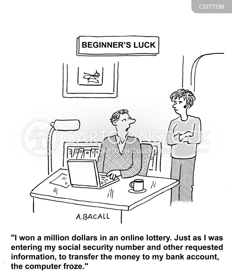 Winning The Lottery Cartoons And Comics Funny Pictures