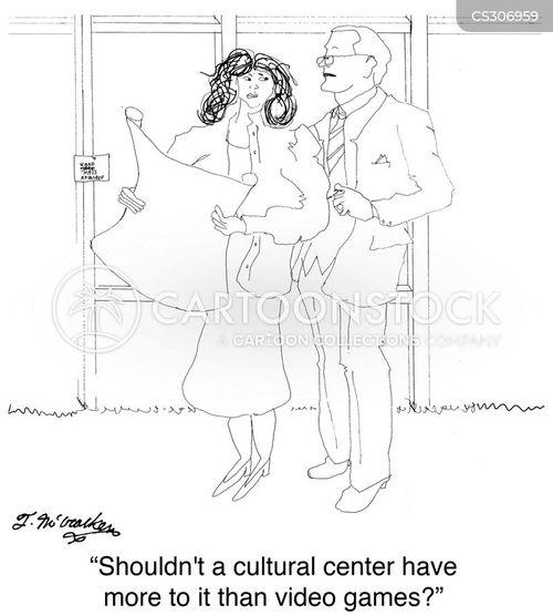 historical sites cartoon