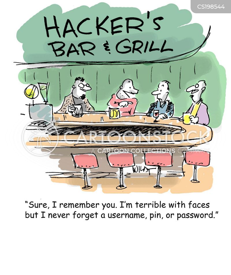 Image result for computer hackers cartoon