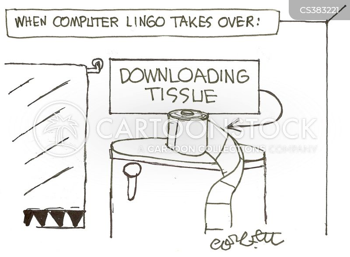 computer lingo cartoon